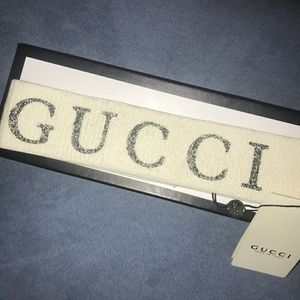 White Gucci Headband
